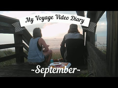 Rudder Repair & Sailboat Life in Virginia September 2018 * My Voyage Video Diary *