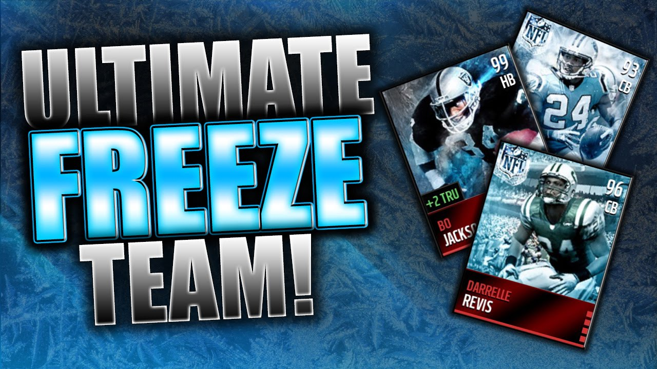Madden Mobile Christmas Promo.Ultimate Freeze Theme Team Madden Mobile Christmas Promo