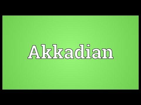 Akkadian Meaning