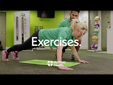 How To Wide-Hands Pushup   Nuffield Health