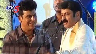 Lepakshi Utsavalu 2016 Balakrishna Remembers Kannada Rajkumar Memories TV5 News