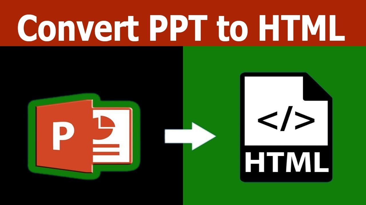 How to Convert PPT Slide to HTML Web File in Microsoft PowerPoint Document  2017