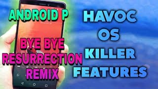 🔰[MOST CUSTOMIZABLE ROM]Havoc Os 8.1.0 for Redmi Note 4 Android 8.1.0🔰