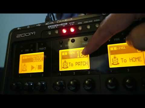 Dotted Eighth Delay Using ZOOM G3X
