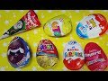 Ozmo Yumurta Kafalar Toybox Ülker Smartt Kinder Joy Toto Sürpriz Yumurtaları Açıyoruz