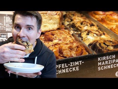 Berlin Bakery - Eating GIANT SCHNECKEN in Zeit für Brot