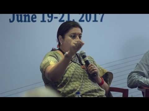 ITTF2 | Union Textiles Minister, Smriti Irani, in conversation with Ashok Malik