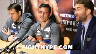 ANTHONY CROLLA ANALYZES LOSS TO JORGE LINARES; EAGER FOR IMMEDIATE REMATCH:
