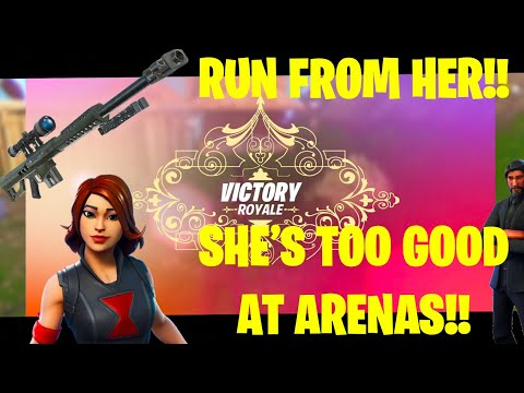 How To Play ARENAS RIGHT! Widow is TOO good! Fortnite: Battle Royale Memetage & Montage