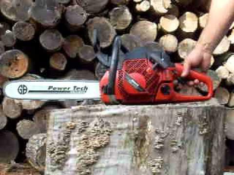 DSCN5200 Jonsered CS2152 chainsaw - YouTube