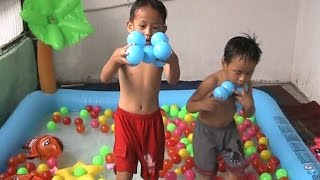 Learn Colors For Children [Blue Balls]-Games Smart Kid