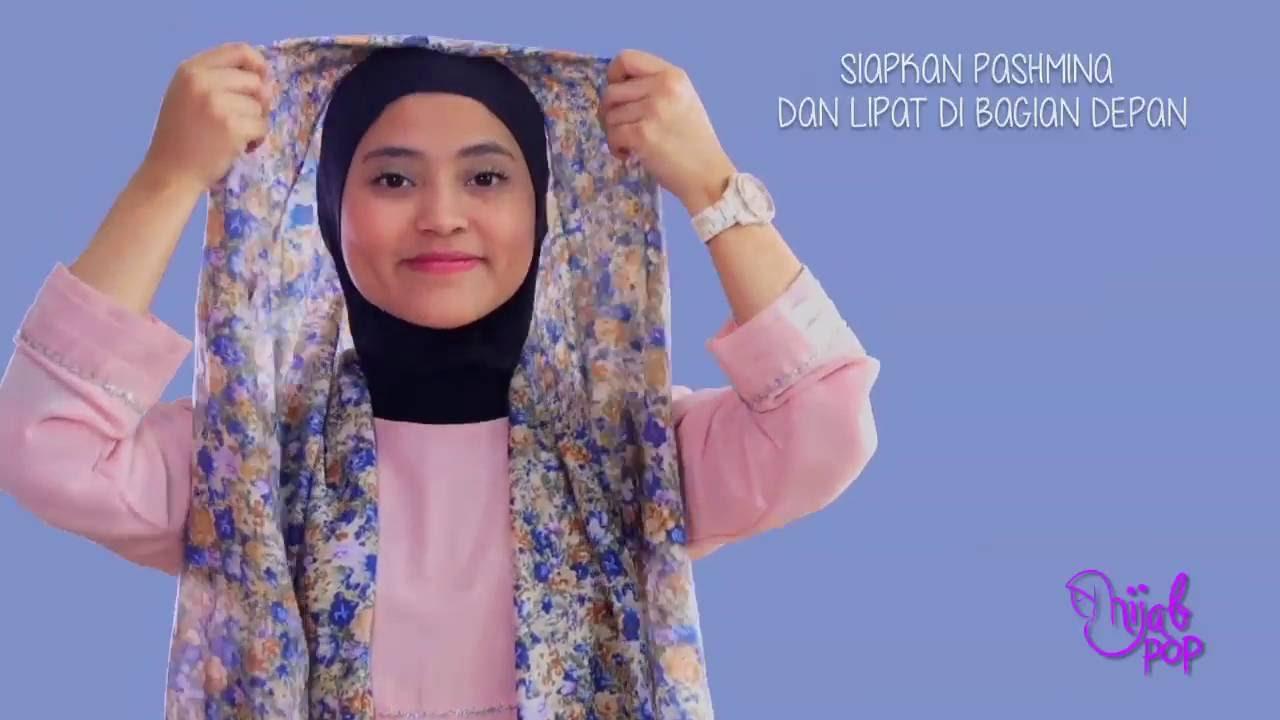 Tutorial Hijab Praktis Tanpa Jarum Pentul YouTube