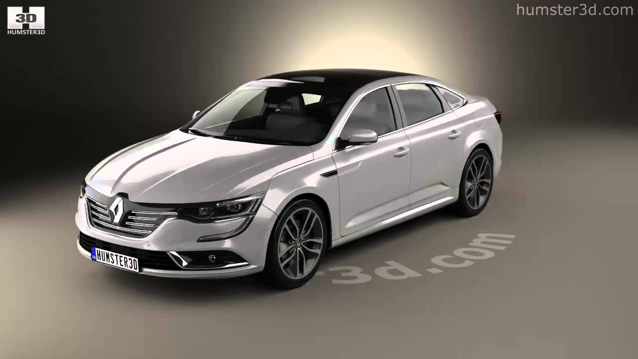 renault talisman 2016 by 3d model store youtube. Black Bedroom Furniture Sets. Home Design Ideas