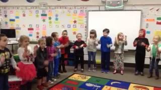 Our kindergarten class!