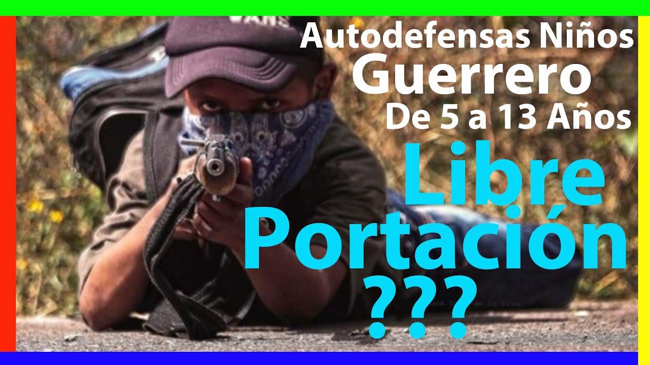 SEDENA México  - Autodefensas de Niños en Guerrero