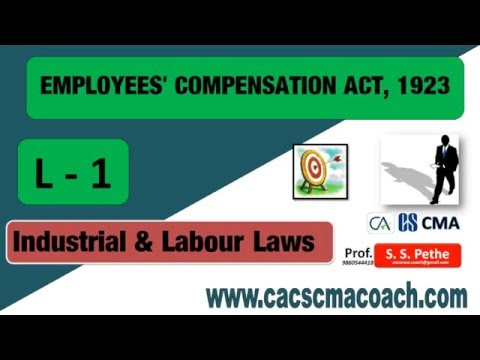 Employee Compensation Act 1923
