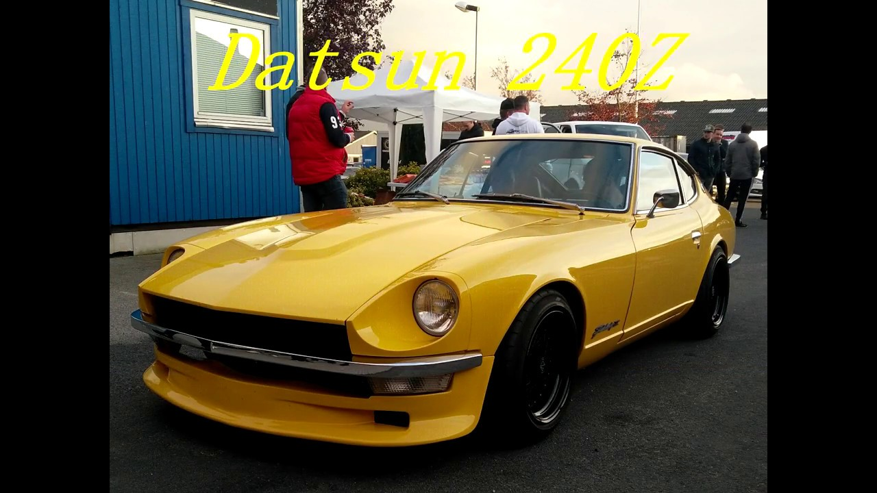 datsun 240z til dyno meet hos kolstrup tuning youtube. Black Bedroom Furniture Sets. Home Design Ideas
