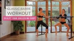 Classic Ballet Barre Workout to Sculpt Your Ballerina Body | Sleek Ballet Fitness