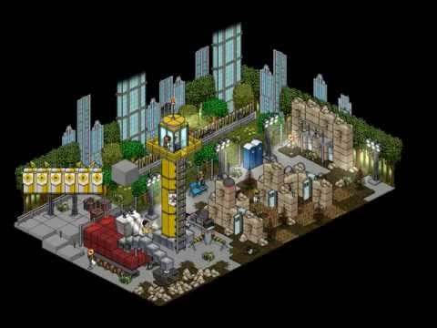 Habbo Construction Side Old Version Youtube