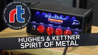 Rich Tone Music: Hughes & Kettner Spirit of Metal Micro Guitar Amp DEMO