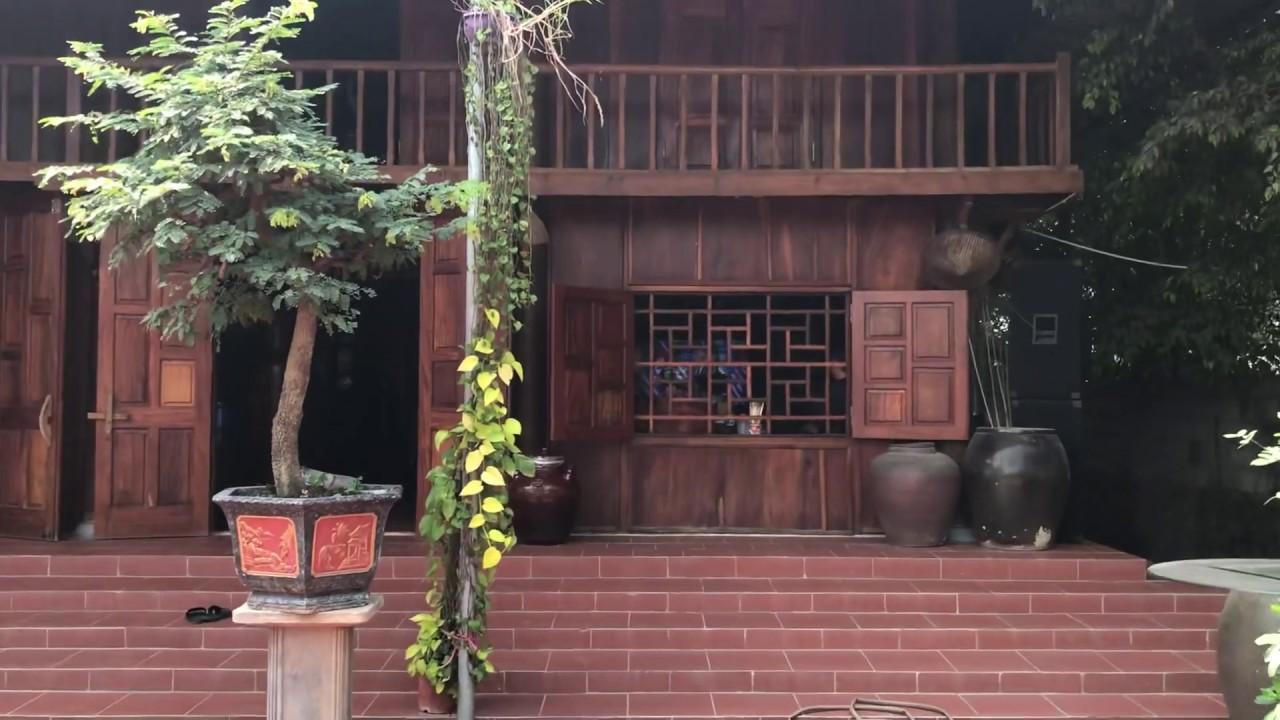 Ngôi nhà cổ bằng gỗ và những món đồ 100 tỷ(TẤM PHẢN LỚN)