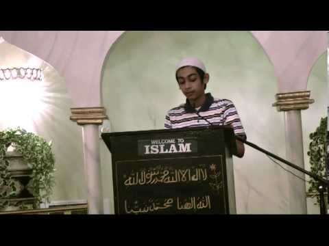 Milad-un- Nabi SAS - Speech by Syed Isa