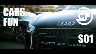 S01 Эволюция Audi R8 2007-2018