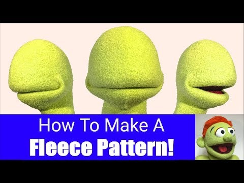 How To Make A Fleece Pattern - Part 3 - Puppet Building 101