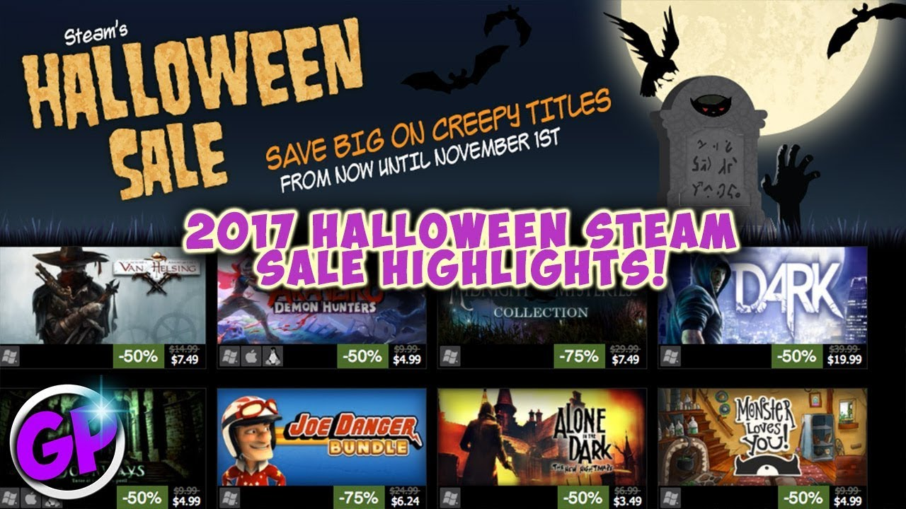 2017 Halloween Steam Sale Highlights!!! - YouTube