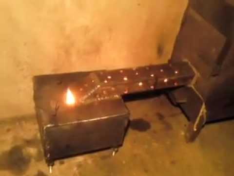 Чудо-печь на отработке своими руками