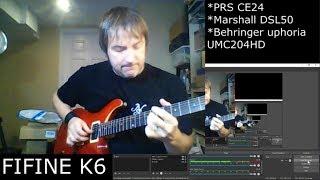 MICROPHONE SHOOTOUT! - Fifine K6 vs Shure SM57 vs Electro-Voice 635A (Voice and Guitar)