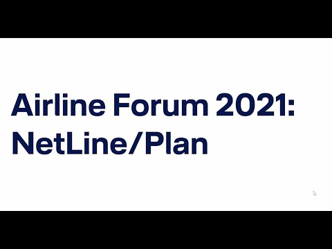 Airline Forum 2021 virtual Jan Never on NetLine/Plan  / Lufthansa Systems