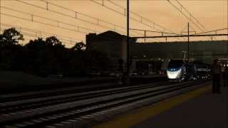 Acela Express | Buisness Bullet | Train Simulator 2014
