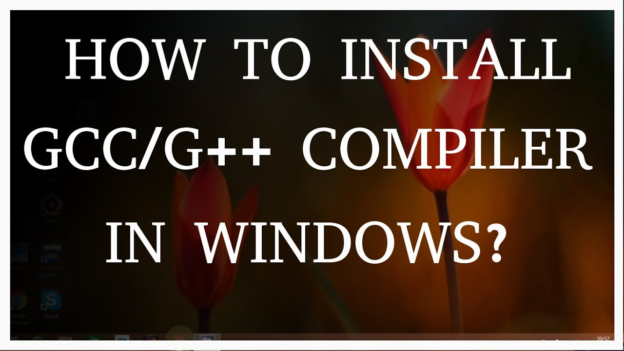 How to install MinGW GCC/G++ compiler in Windows XP/7/8/8 1/10