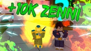 OBTAINING PERFECT GOLDEN! HOW TO GET 10k ZENNI FAST! | ROBLOX DBZ:FS
