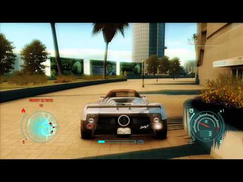 Need for Speed: Undercover - Pagani Zonda F