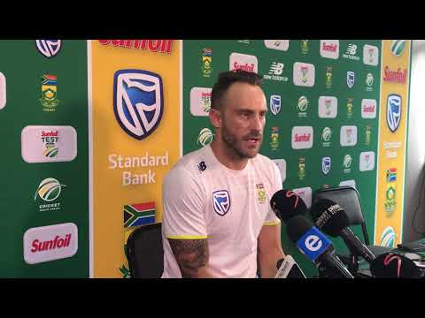Faf du Plessis discusses the controversy in the first Test against Australia