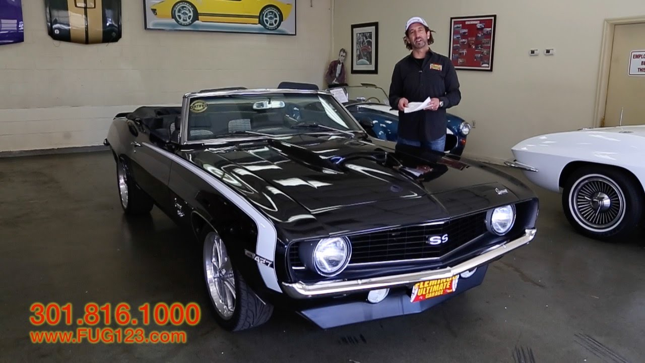 1969 chevrolet camaro pro touring convertible for sale w drive driving sounds walk through youtube