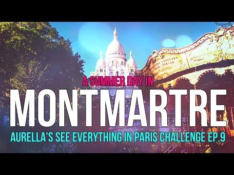 Sunny Montmartre, Paris: Short Travel Film (Made with Filmora)
