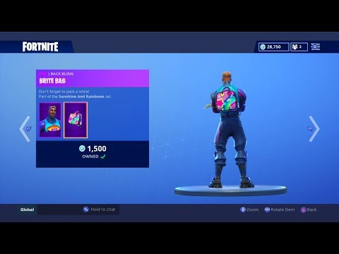 Fortnite ITEM SHOP (September 24) | The Skins Are Trash, But The Backblings Are Amazing!
