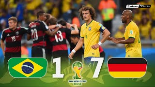 Brasil 1 x 7 Germany ● 2014 World Cup Semifinal Extended Goals & Highlights HD