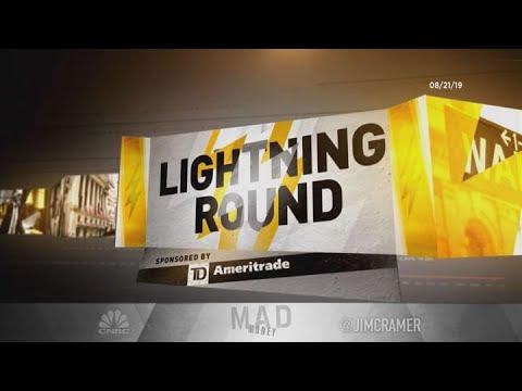 Cramer's lightning round: I think you have to let Pfizer go