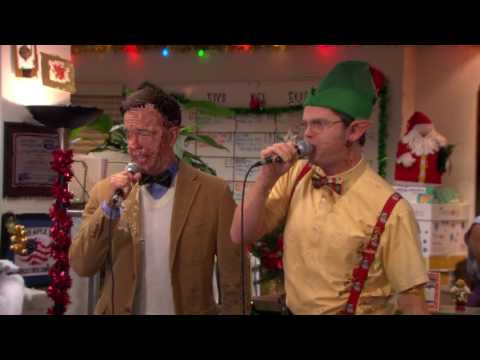 Dwight and Andy epic karaoke (Green Day - Boulevard of Broken Dreams)