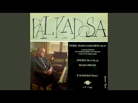 Third Piano Concerto - I. Vivo