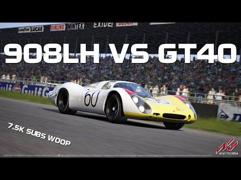 Assetto Corsa - Porsche Pack #3: 908LH vs GT40 |