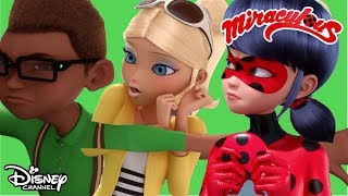 Evil Kissing Zombie! | Miraculous Ladybug | Official Disney Channel Africa