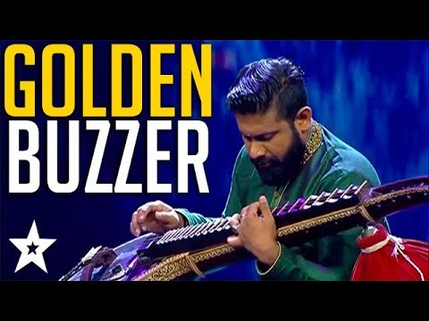 Musician Plays the Veena Gets GOLDEN BUZZER on Sri Lanka's Got Talent