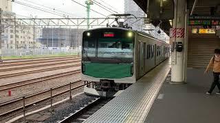 烏山線 EV-E301系 発車 超静か( ゚д゚ )