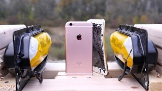 Airbag vs iPhone 6S Test - Don't Put Your iPhone on an Airbag!