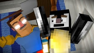 Hello Neighbor: Why is He Angry Animated! (Minecraft Animation)